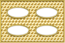Gold dots template