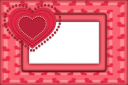 Heart dots template