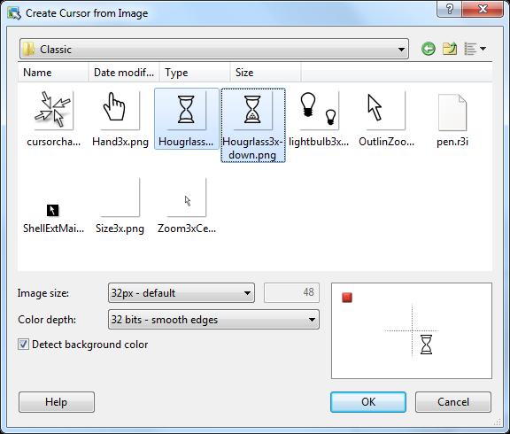 RealWorld Cursor Editor - make animated cursors
