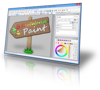 RealWorld Paint - portable image editor