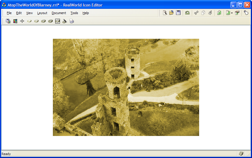 New image filter in version 2005.2: Colorize image