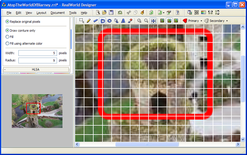Edit images in RealWorld Icon Editor